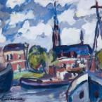 Trompkade te Groningen (1956)